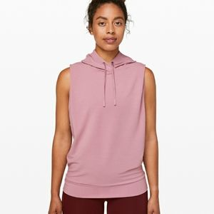 Lululemon stronger as one SL hooded tank